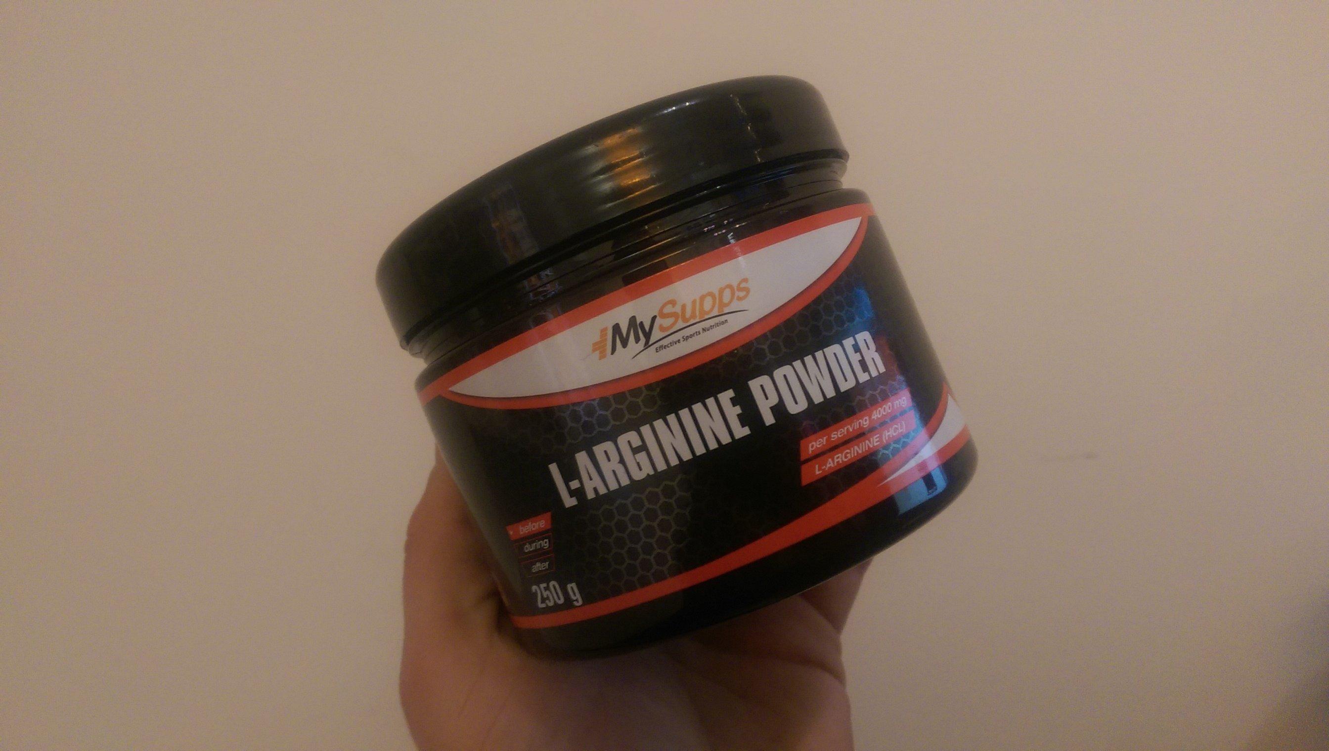L-Arginine Powder von MySupps