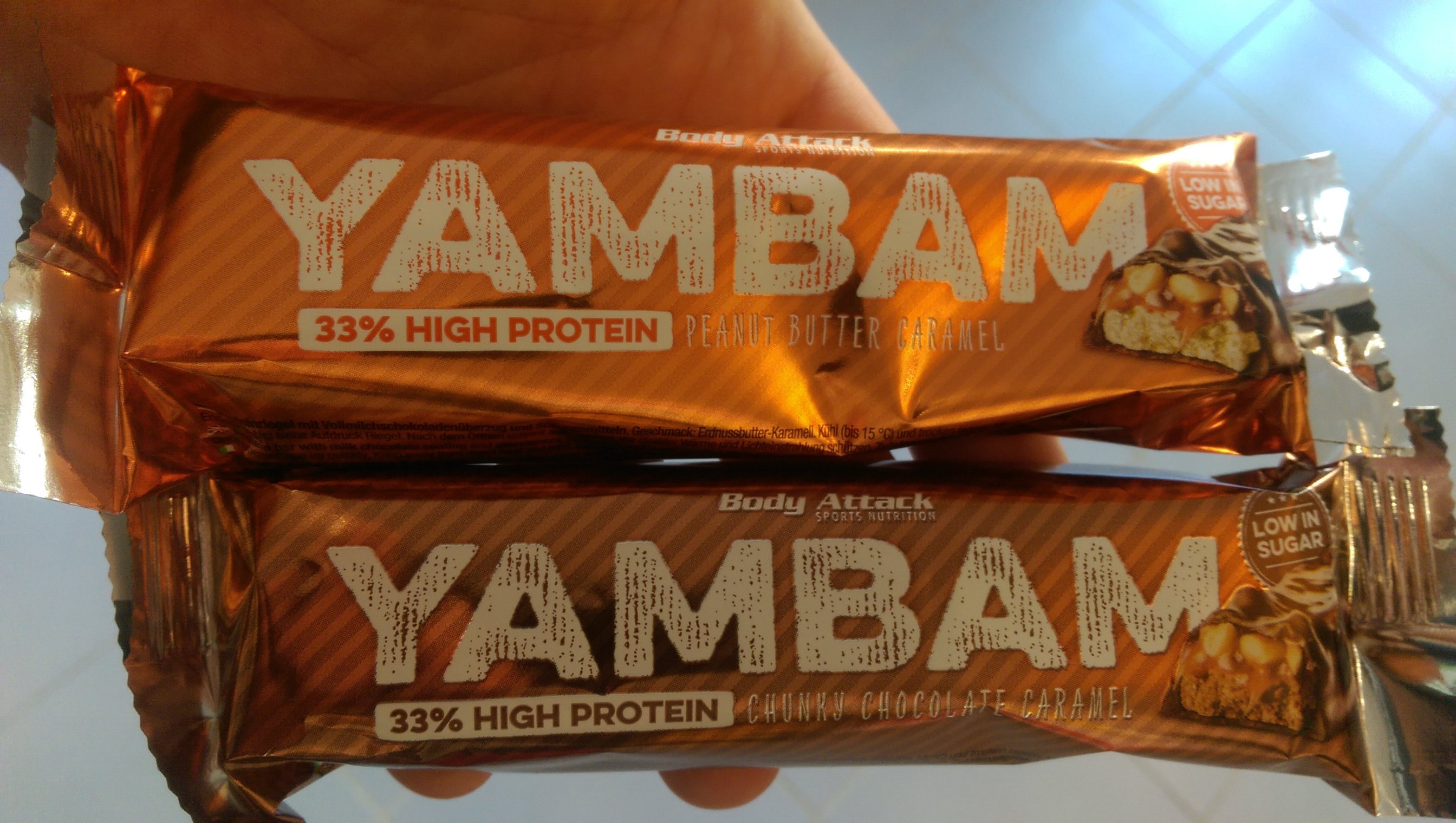 YAMBAM Bar von Body Attack