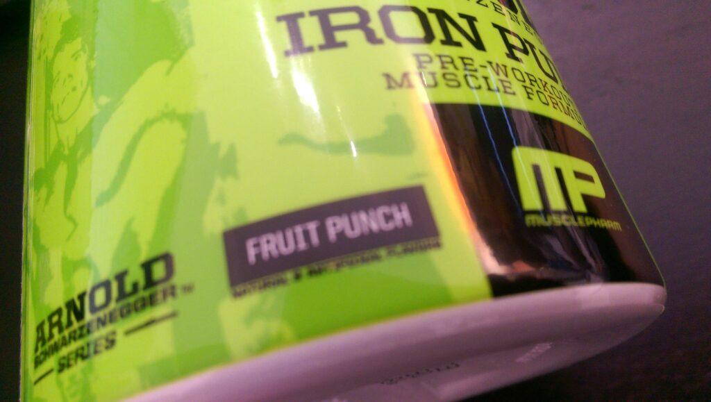 Iron Pump Fruit Punch