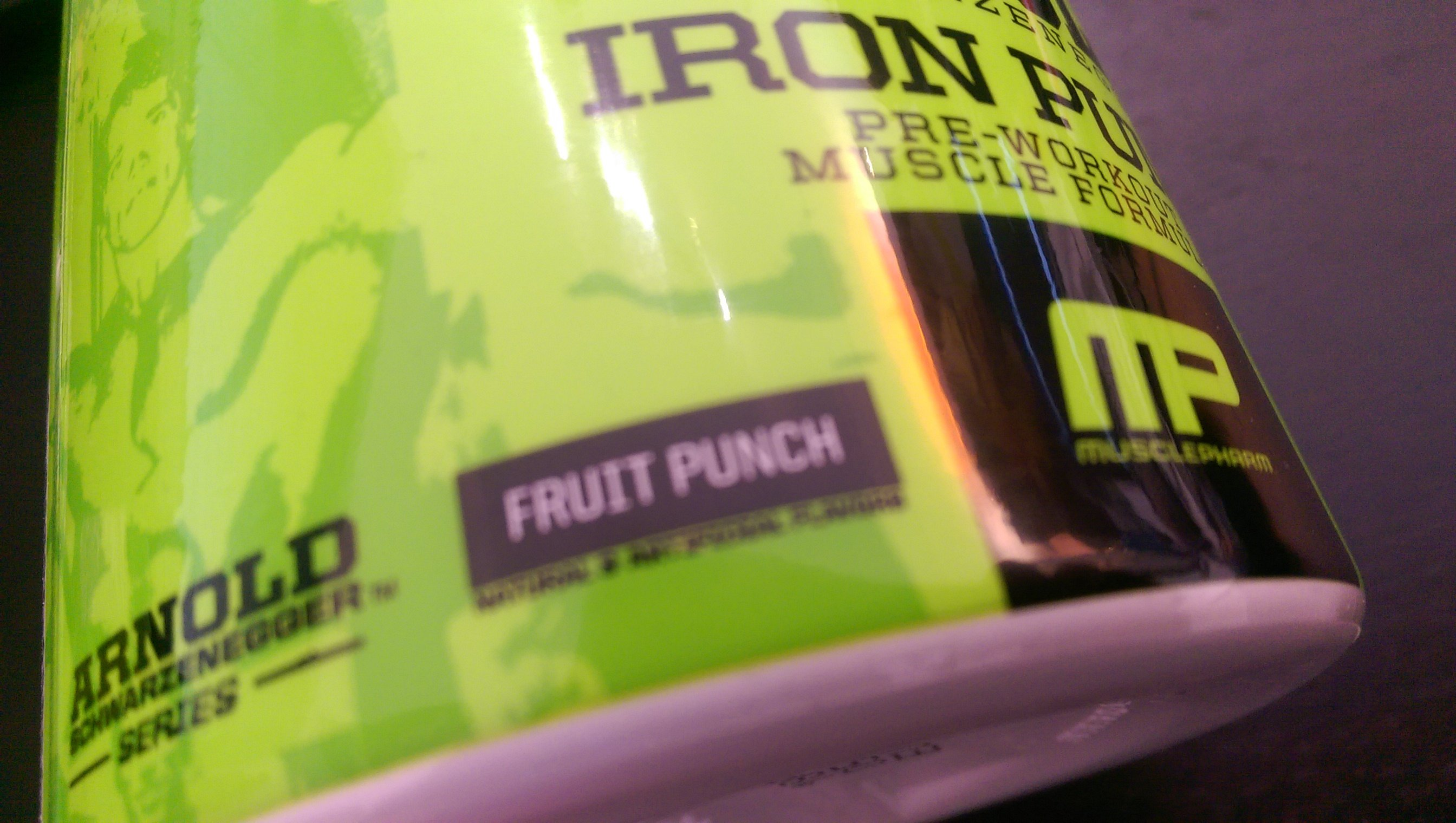 Iron Pump Fruit Punch