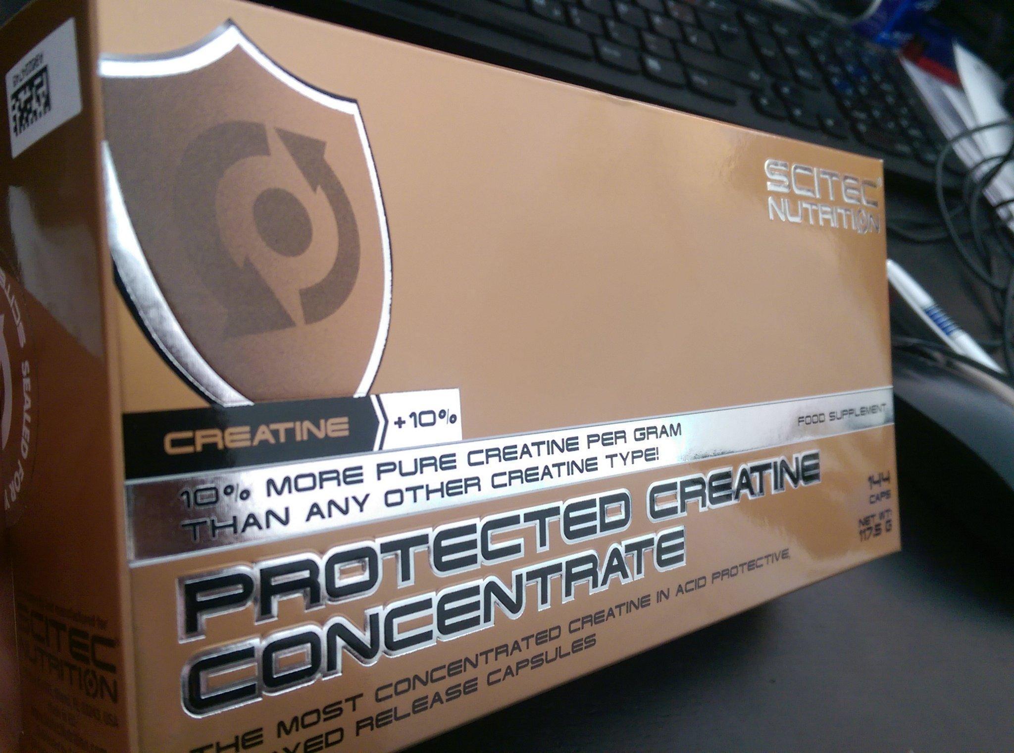 Neu: Protected Creatin Concentrate von Scitec