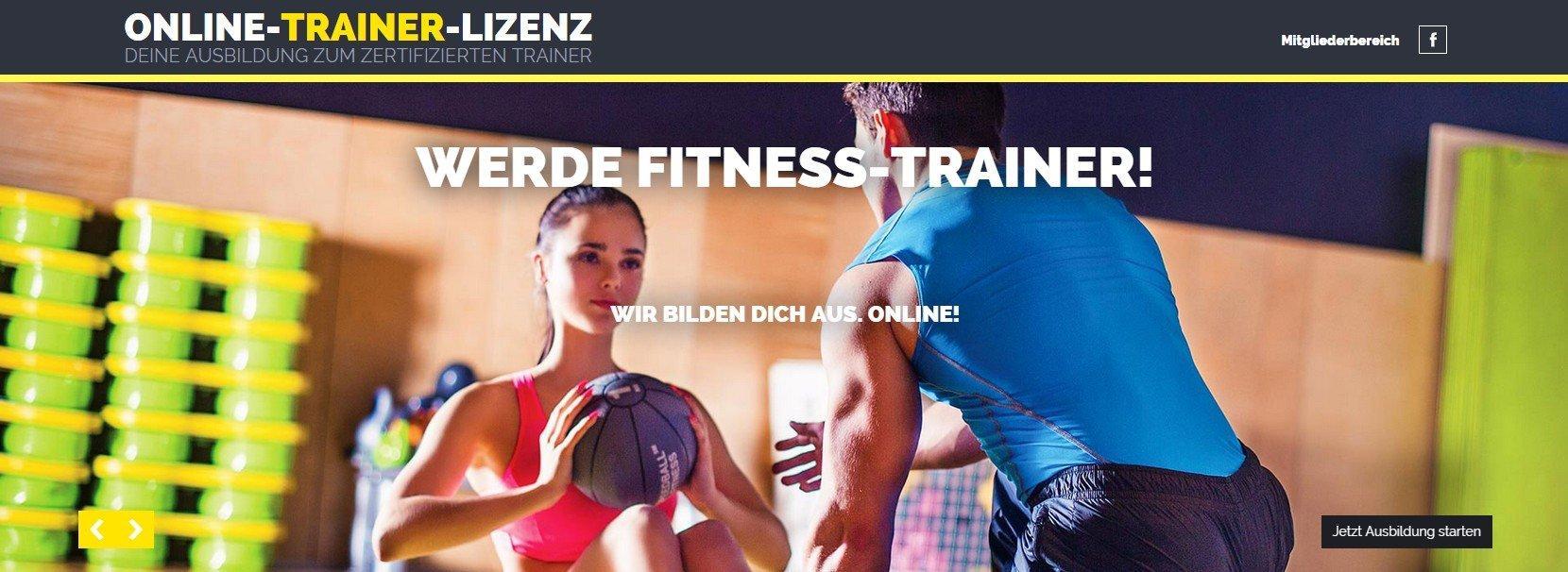 Fitness-Trainer B-Lizenz im Fernstudium