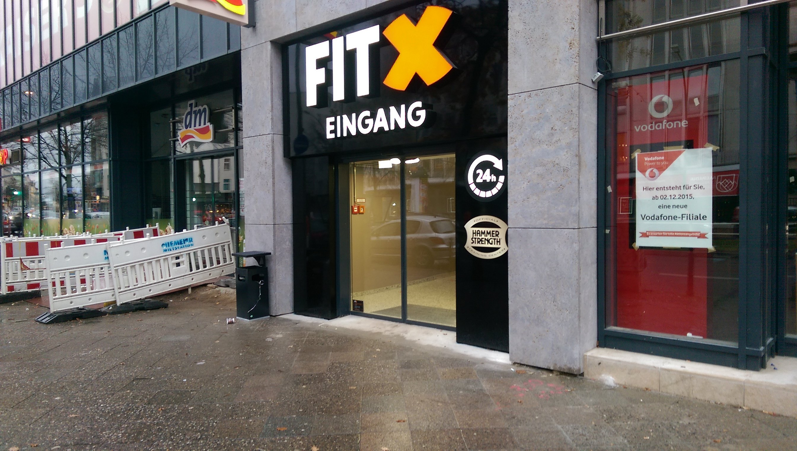Neues FitX in Berlin Schöneberg
