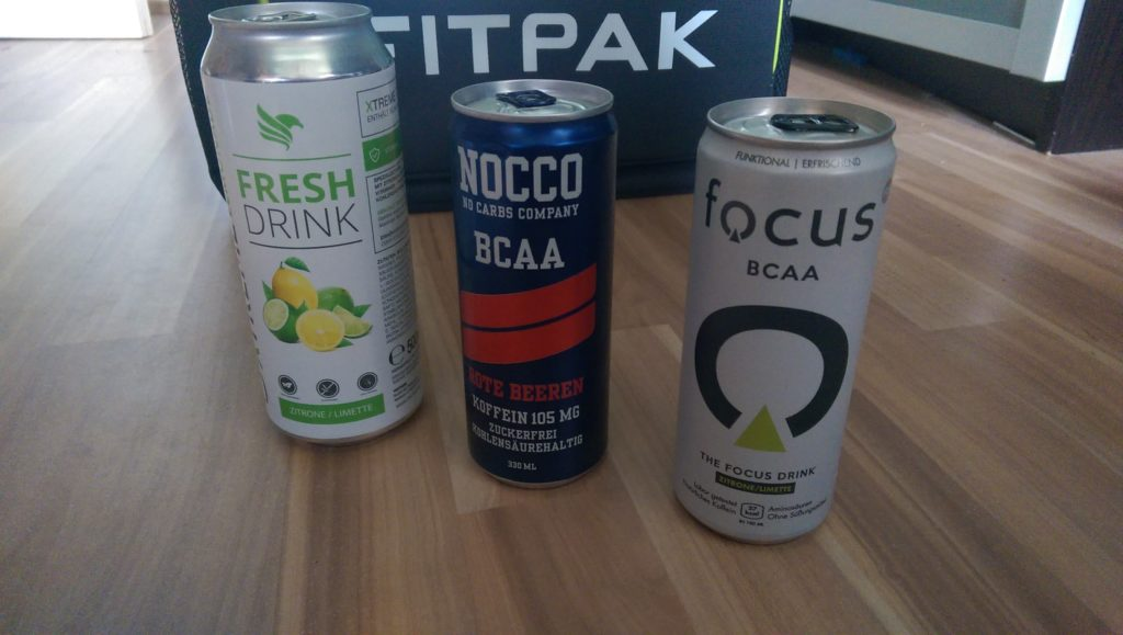 BCAA Drinks - Focus - Nocco