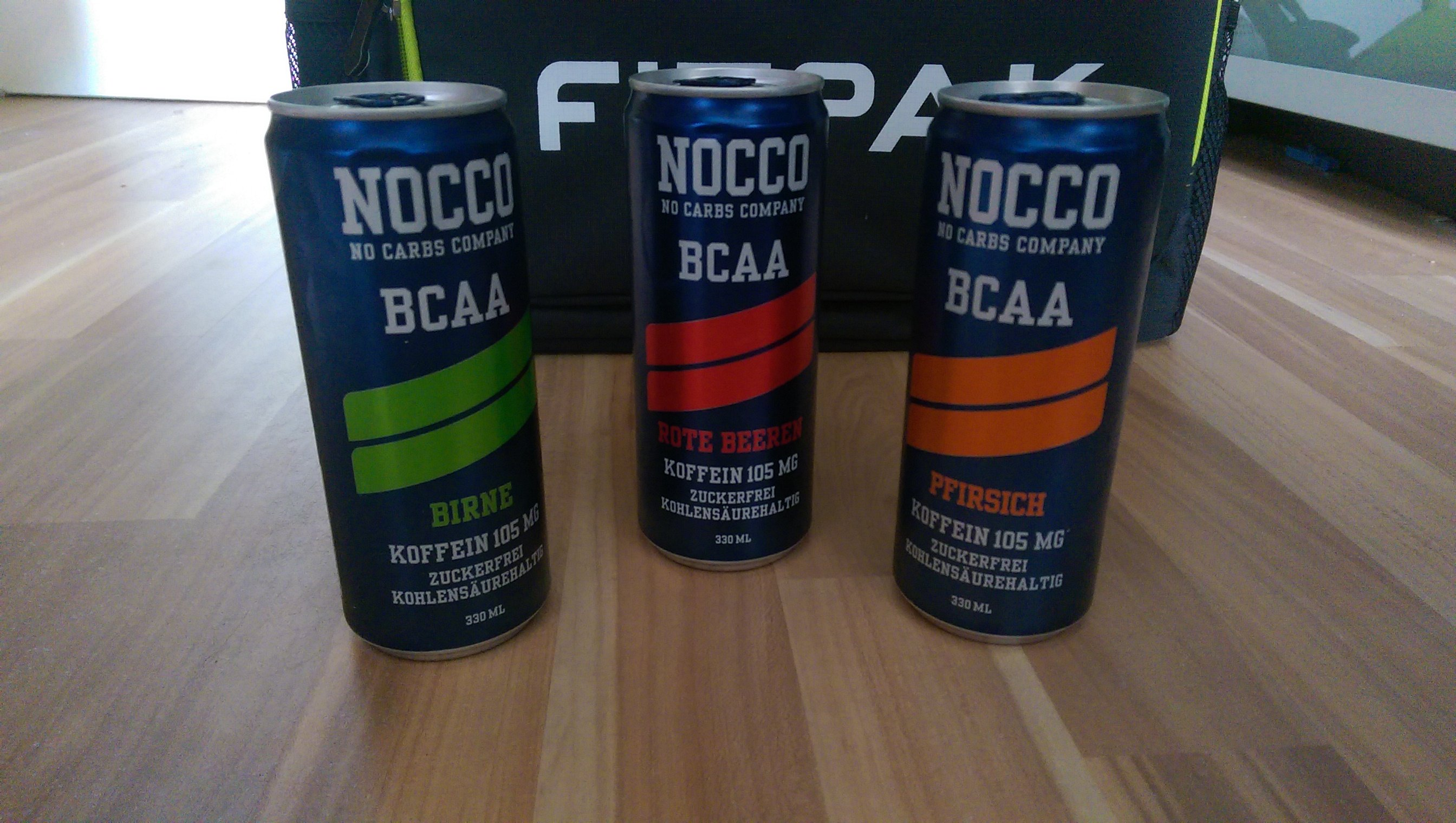 Nocco BCAA Energy Drink - Produktreview