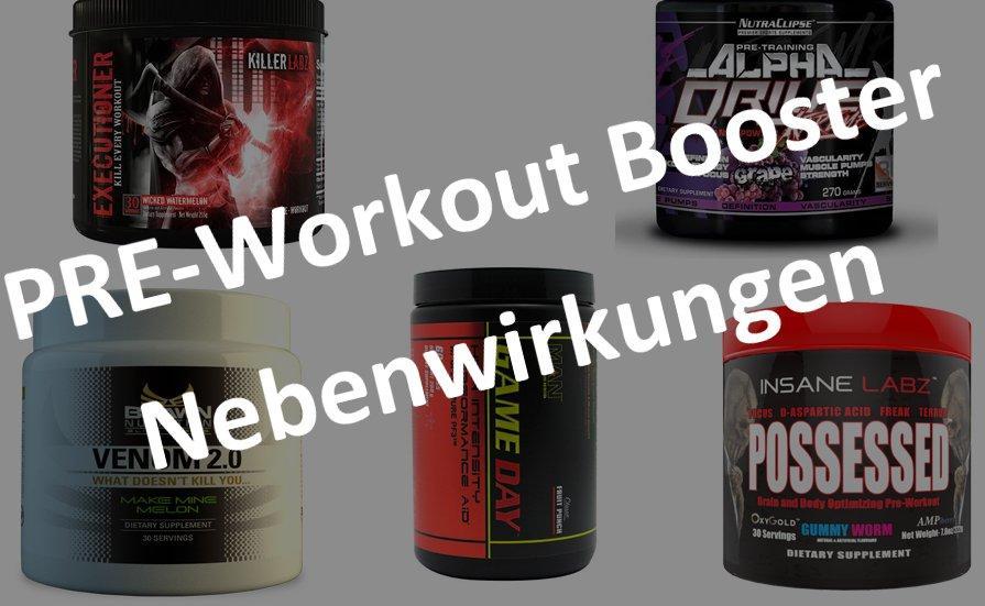 Pre-Workout Booster Nebenwirkungen