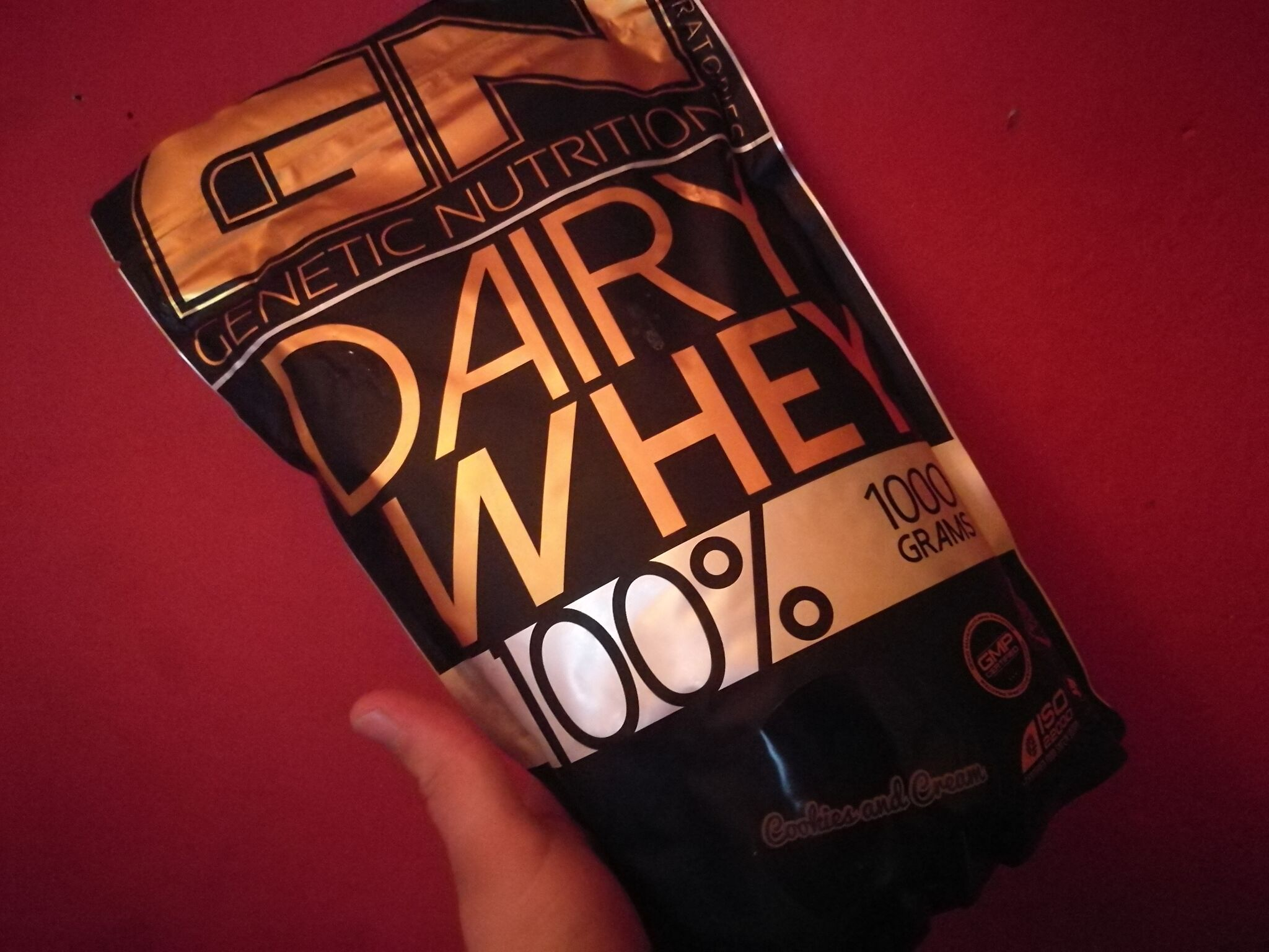 GN 100% Dairy Whey - Cookies & Cream - Review / Bewertung
