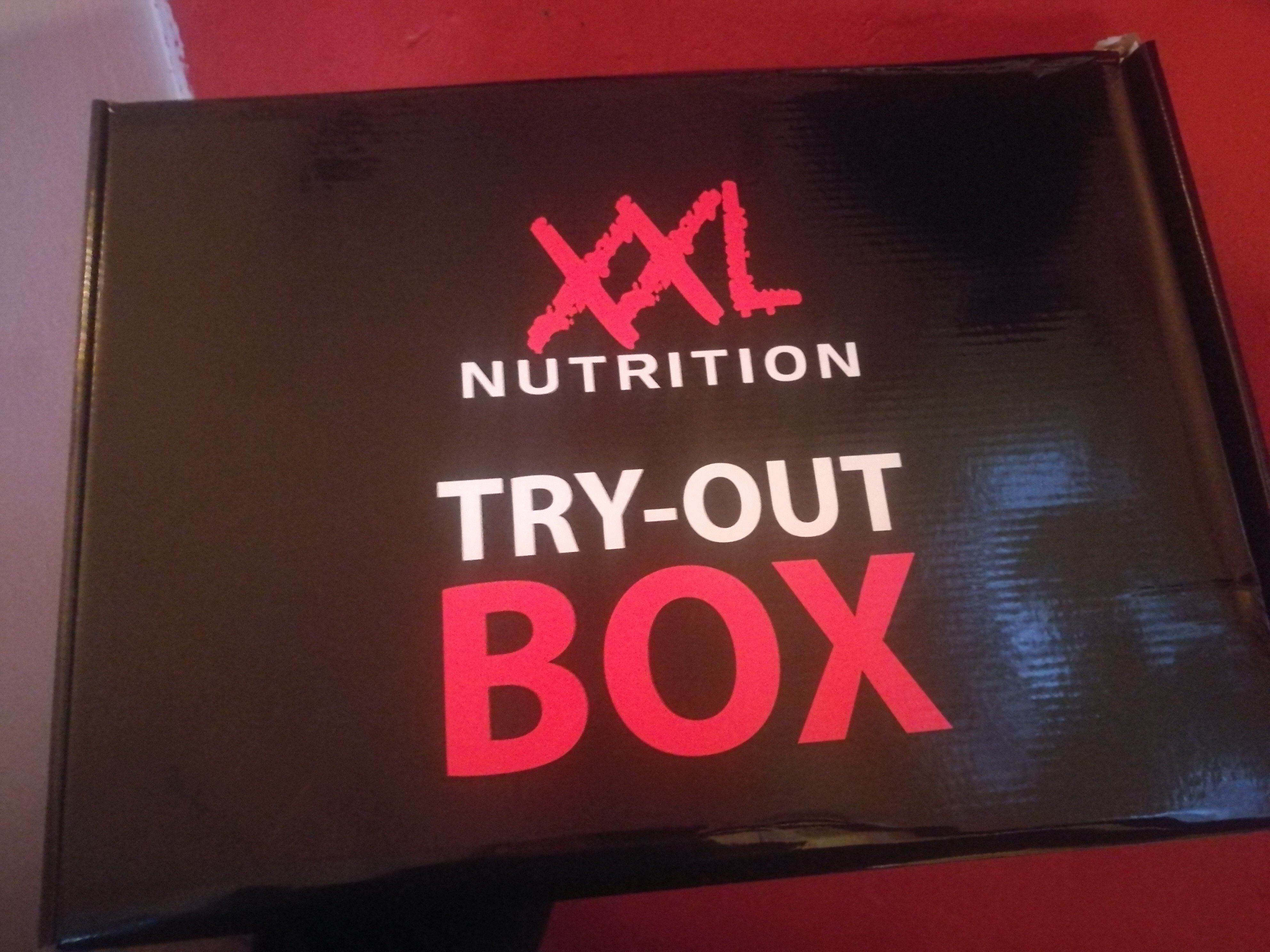 XXL Nutrition Try-Out Box