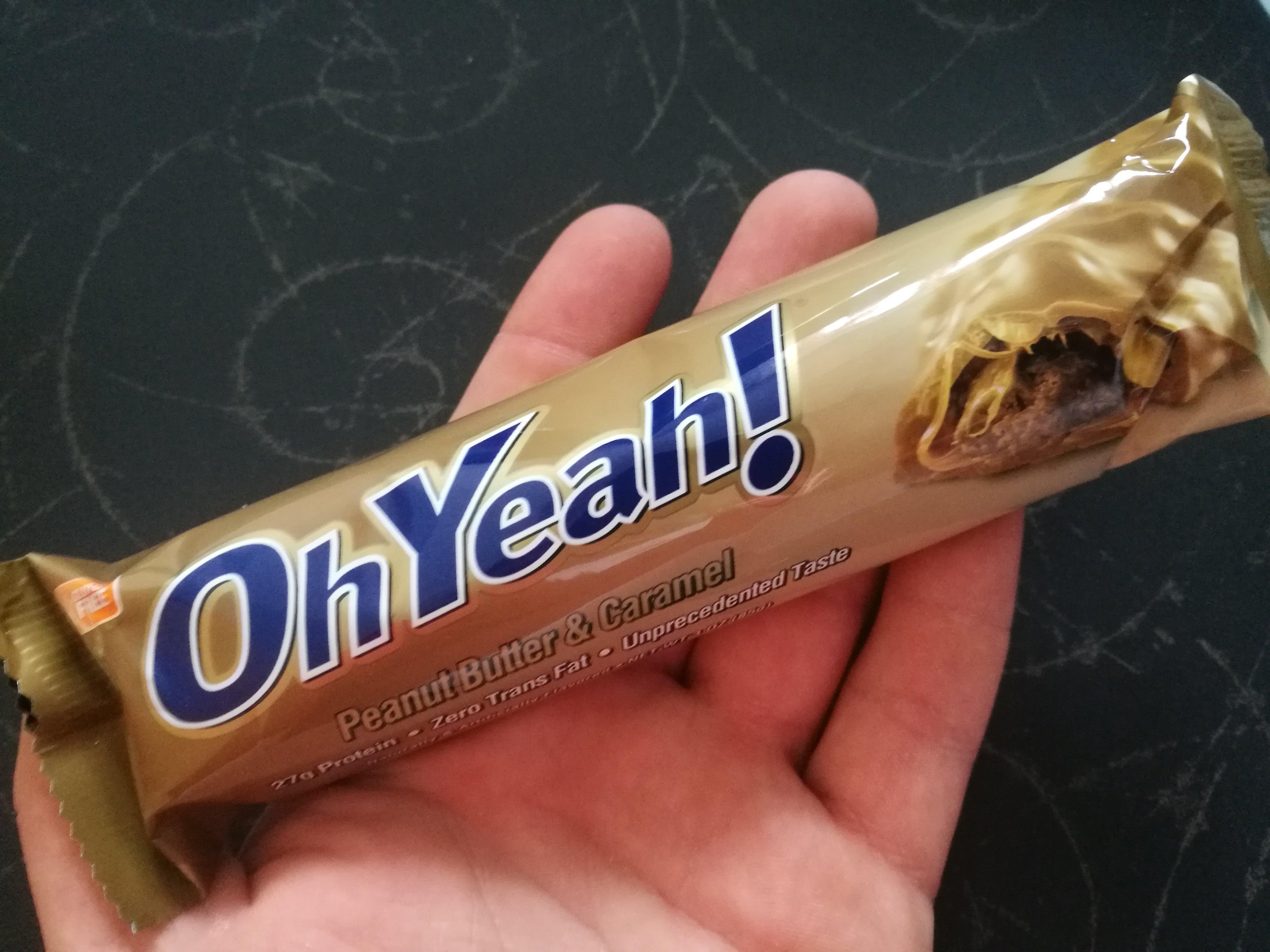 Oh Yeah! Peanutbutter-Caramel Riegel - Produkt-Test / Produkt-Review