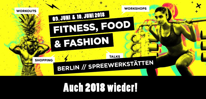 Urban Fit Days 2018 - Tickets erhältlich!