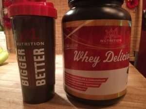 Whey Delicious in der Dose