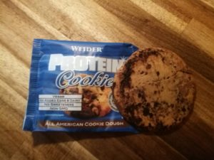 All American Cookie Dough Weider Protein Cookie