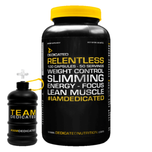 Relentless von Dedicated Nutrition