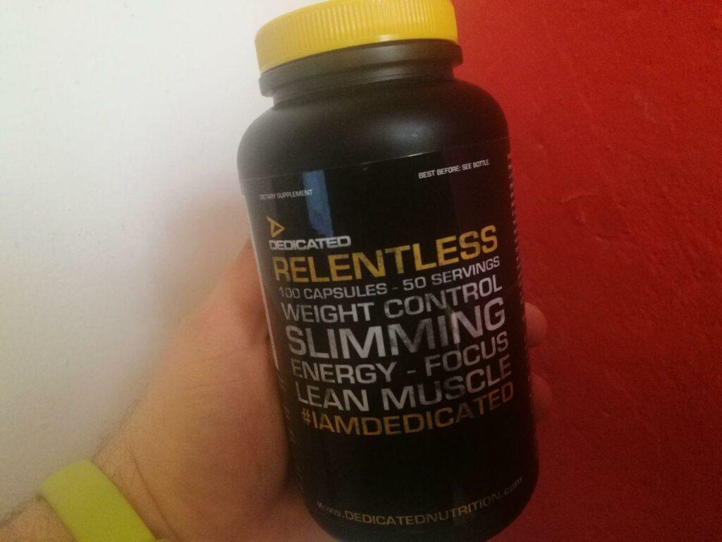 Dedicated Nutrition Relentless Fatburner Erfahrung