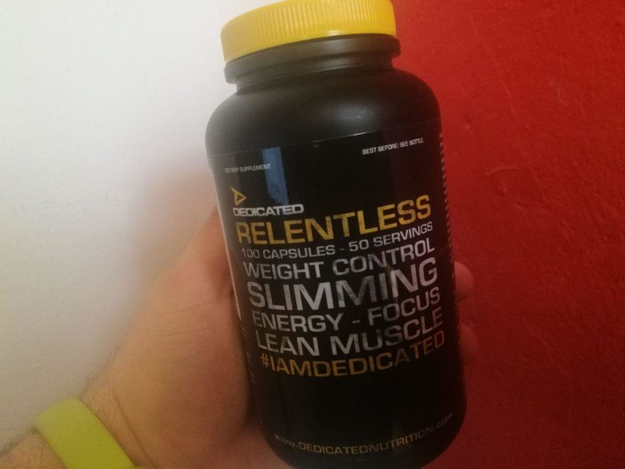 Dedicated Nutrition Relentless Fatburner Erfahrung