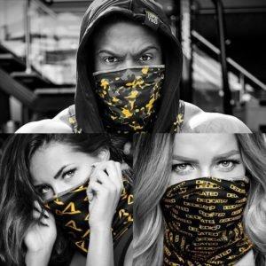Face-Shields 3er Pack Schlauchschal