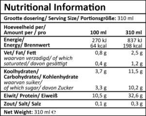 XXL Nutrition Protein Drink