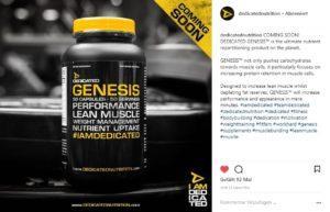 Dedicated Nutrition Instagram Genesis
