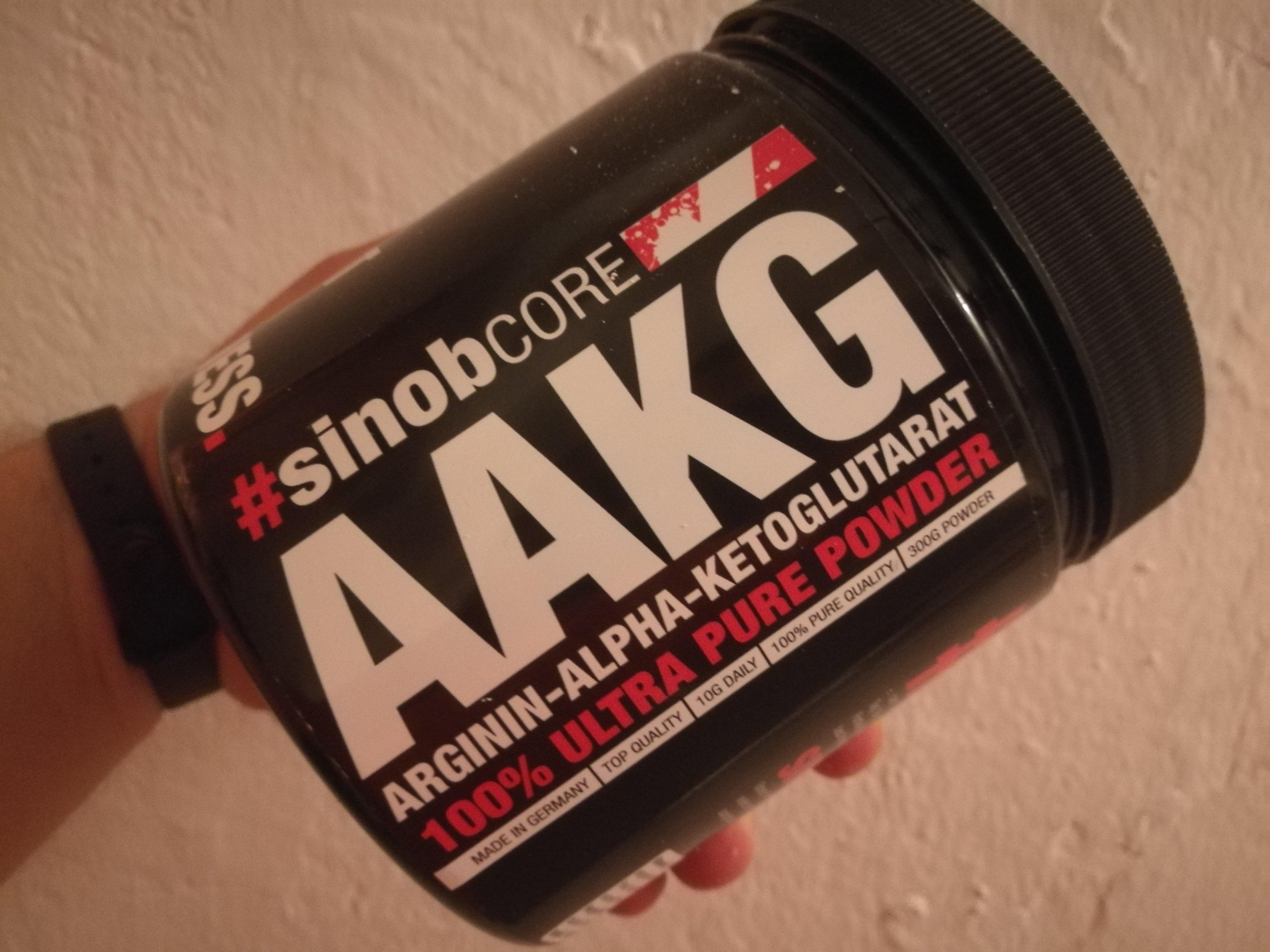 Core Arginin AKG Pulver 300g von Blackline 2.0 #sinob -Erfahrung / Produktreview