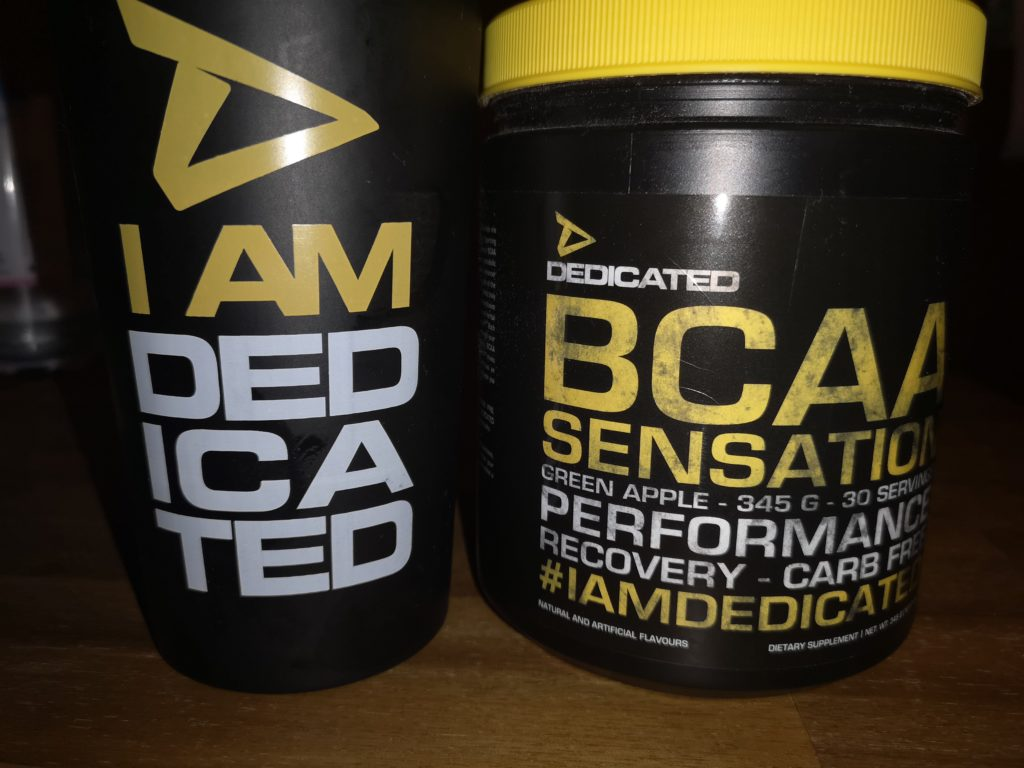 Dedicated Nutrition BCAA Sensation Green Apple