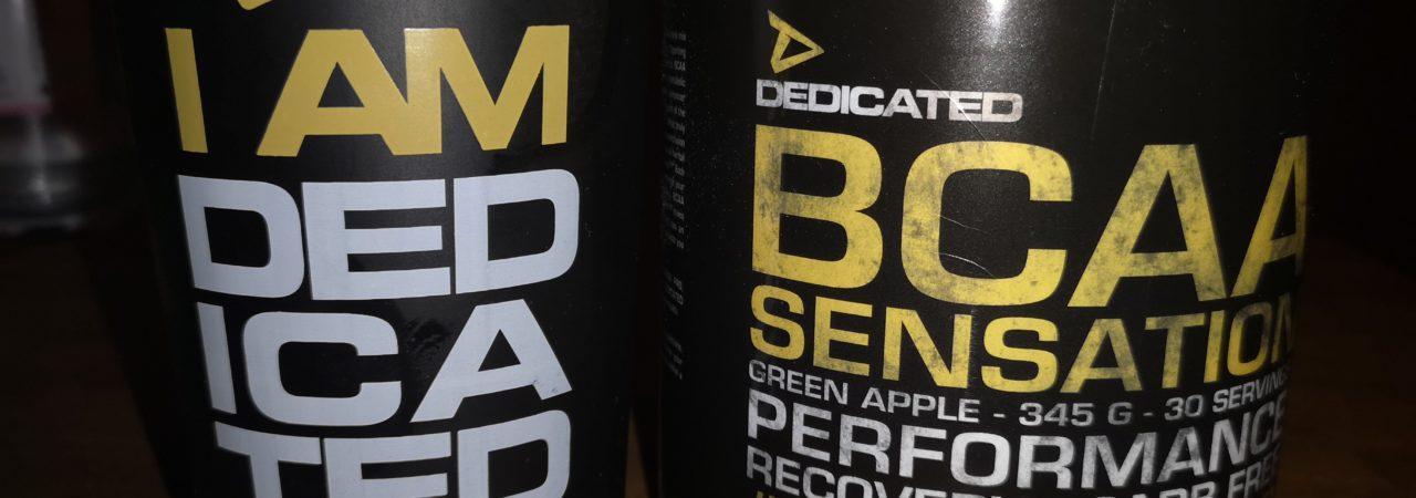 Dedicated Nutrition BCAA Sensation Green Apple
