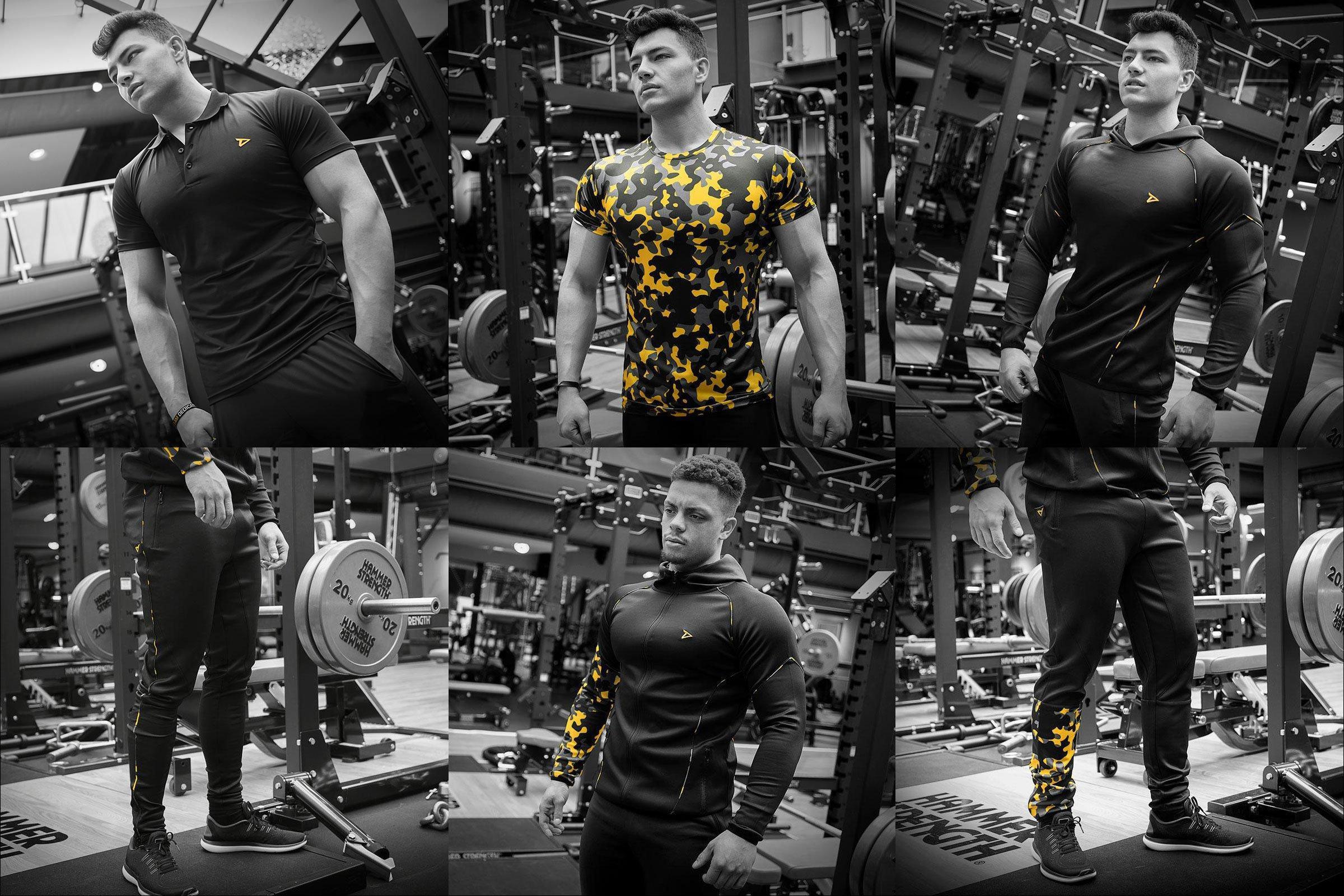 Dedicated veröffentlicht Dry-Fit Performance Shirts und Track Suits