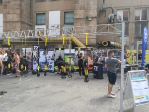TRX bei den Urban Fit Days