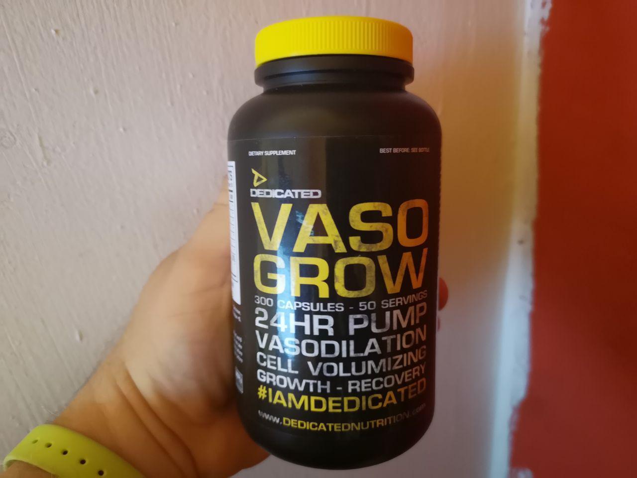 Dedicated Nutrition Vaso Grow im Test