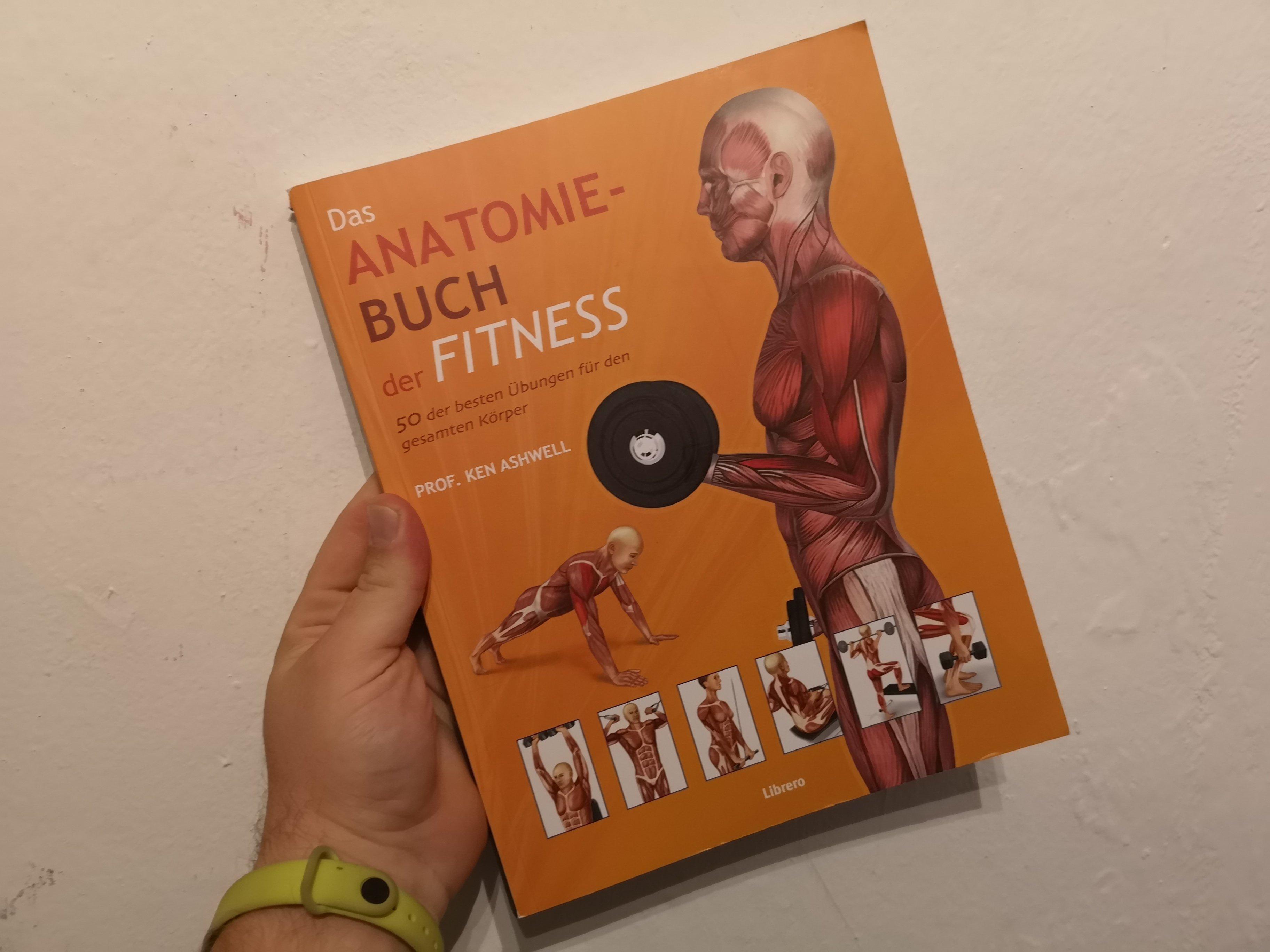 Anatomie-Buch der Fitness