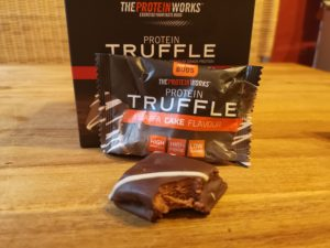 Protein Truffle Schoklade-Orange