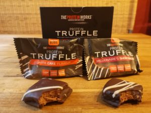 The Protein Works Protein Truffle Geschmackstest