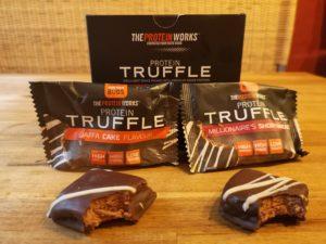 The Protein Works Protein Truffle Geschmackstest