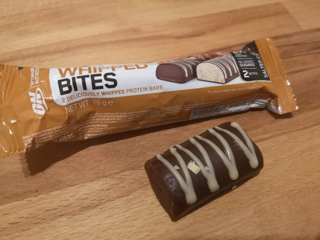 Whipped Protein Bites von Optimum Nutrition