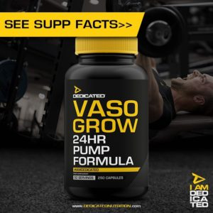 Vasi Grow von Dedicated Nutrition