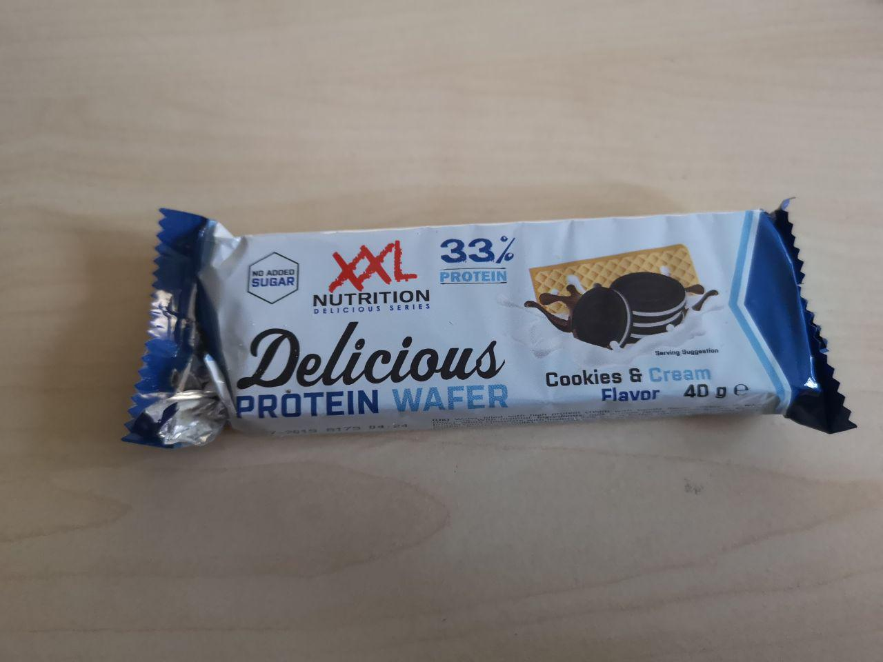 DELICIOUS PROTEIN WAFFEL XXL NUTRITION