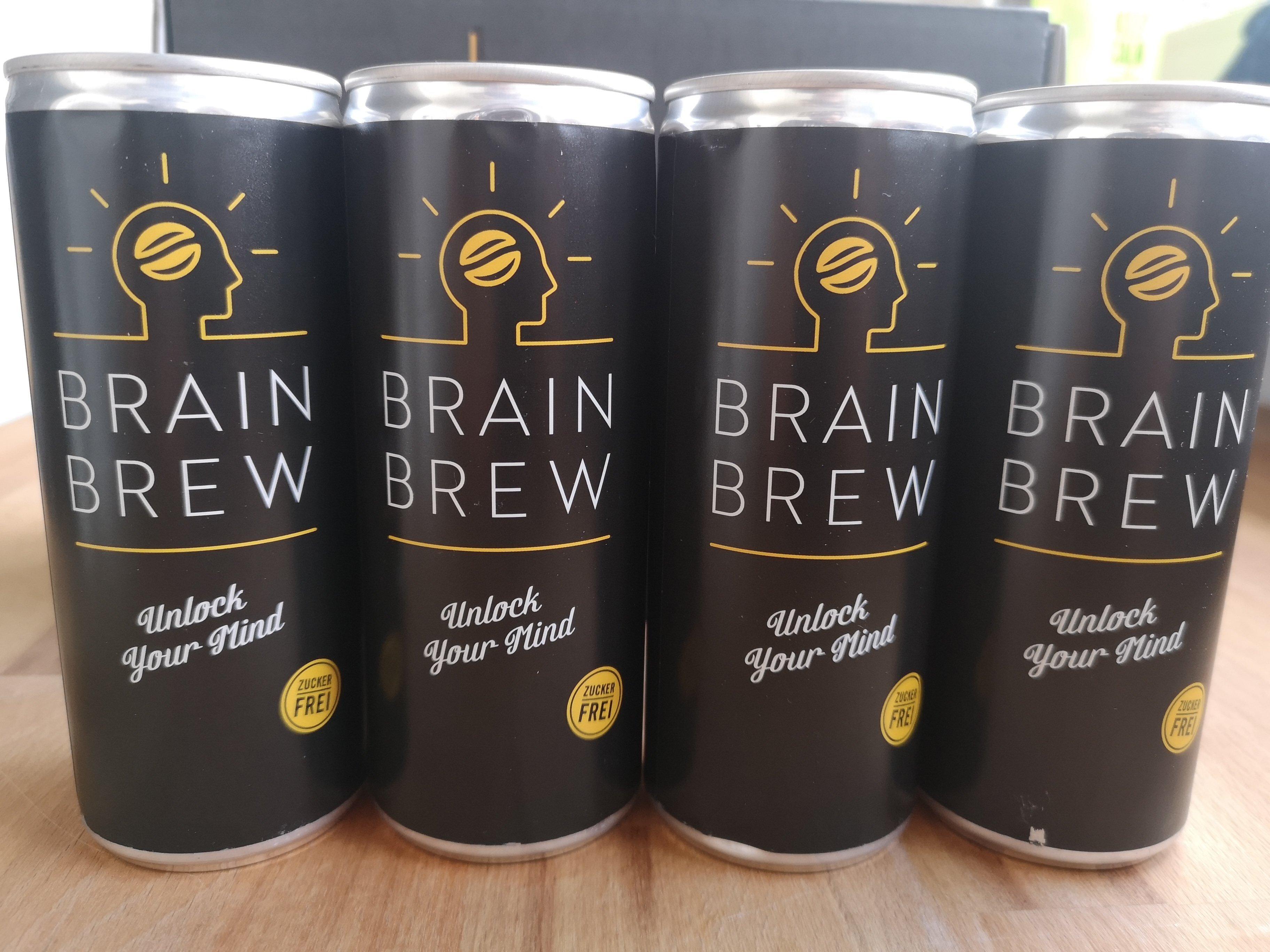 BrainBrew Energy Drink Cold Brew Coffee