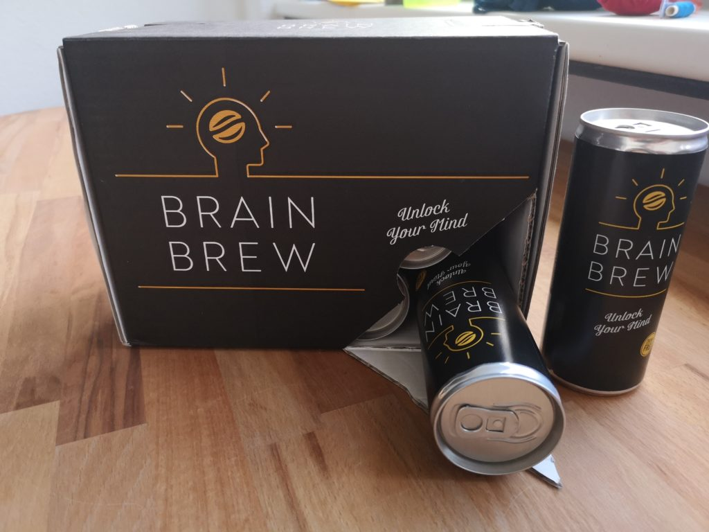 BrainBrew Energy Drink