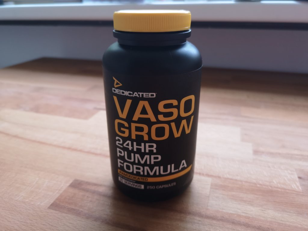 Vaso Grow 24hr Pump Formular