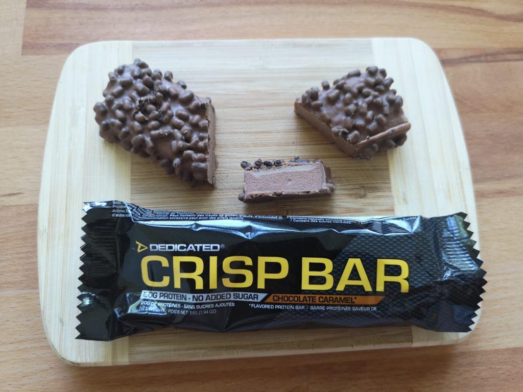Crisp Bar Chocolate Caramel
