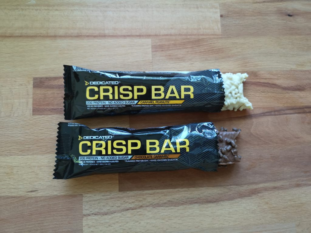 Crisp Bar von Dedicated Nutrition