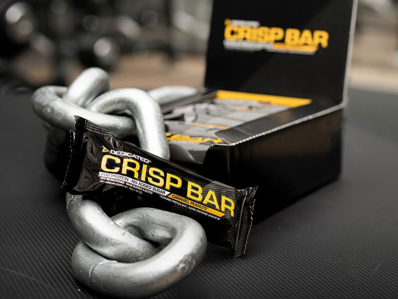 Dedicated Nutrition Crisp Bar Proteinriegel