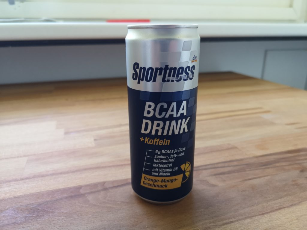 Sportness BCAA Orange-Mango mit Koffein