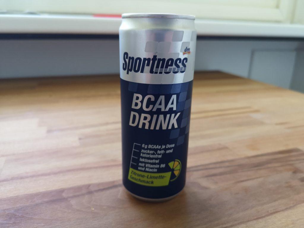 Sportness BCAA Drink mit Zitrone-Limette-Geschmack (ohne Koffein)