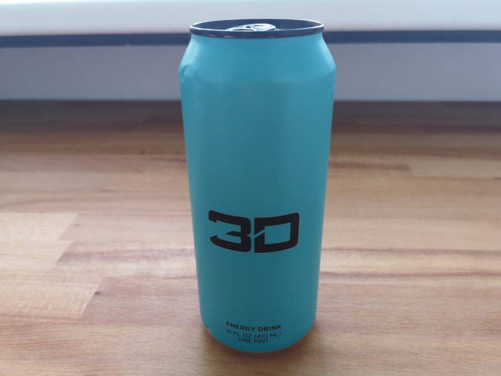 3D Energy Drink Geschmack Blue Raspberry