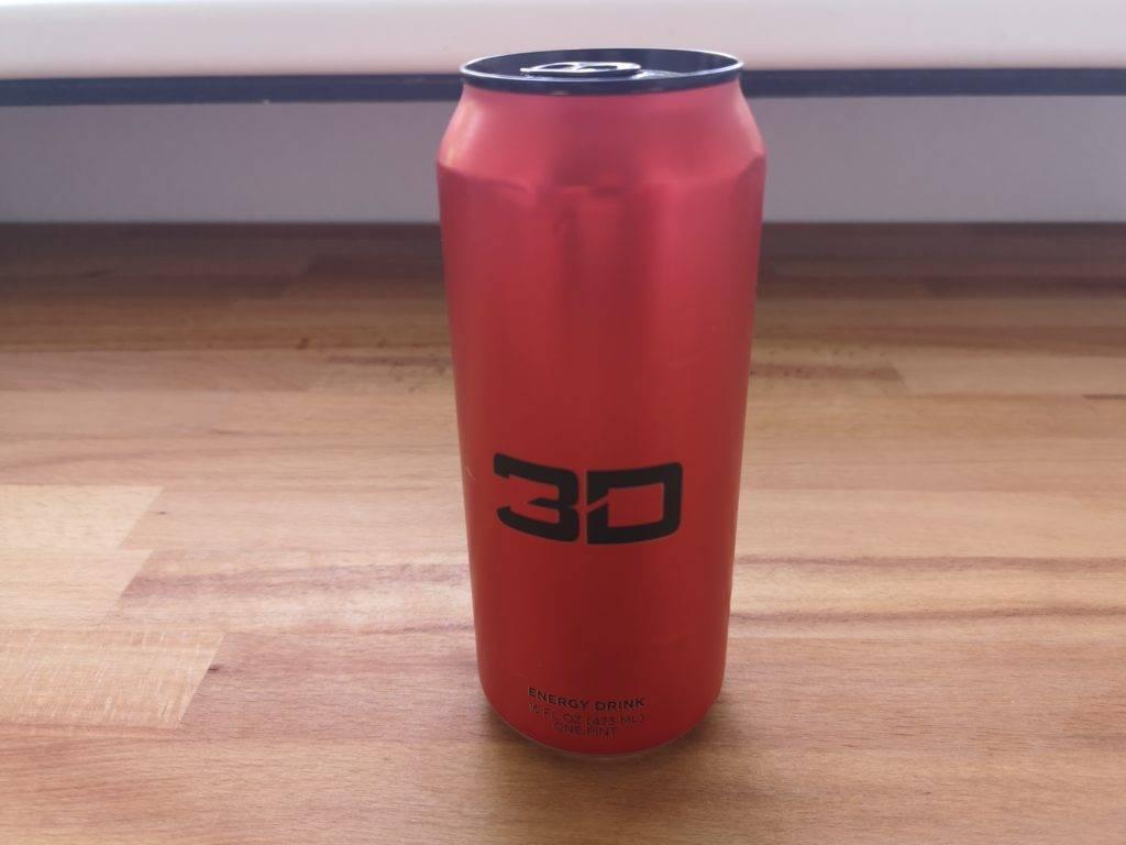 3D Energy Drink Geschmack Kirsche