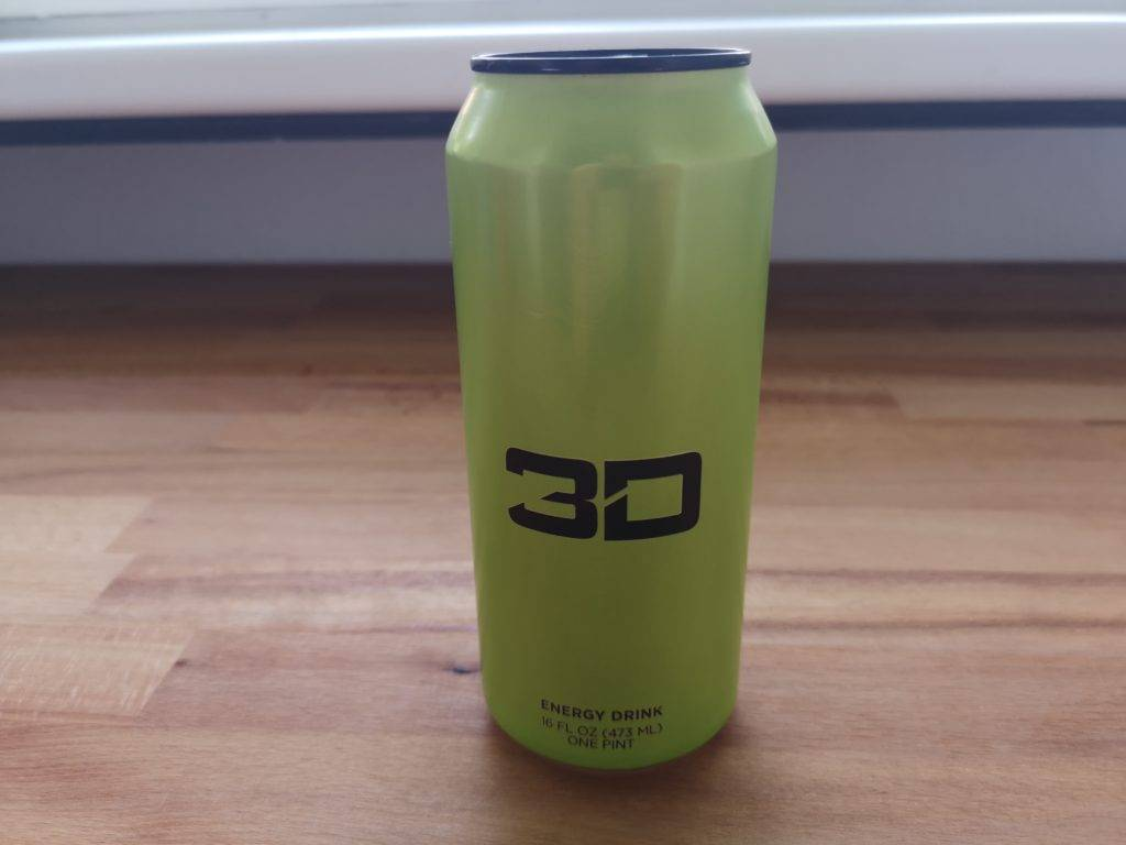 3D Energy Drink Geschmack Mountain Dew