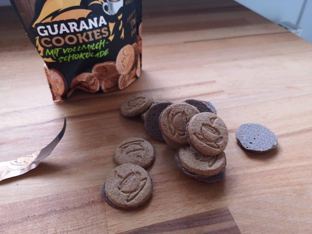Kong Strong Guarana Cookies mit Vollmuilch Schokolade