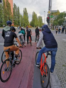 ELOPS 500 Tour durch Berlin