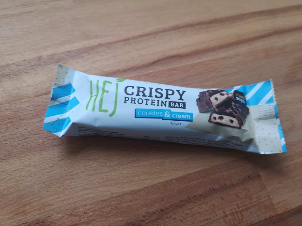 HEJ Crispy Protein Bar