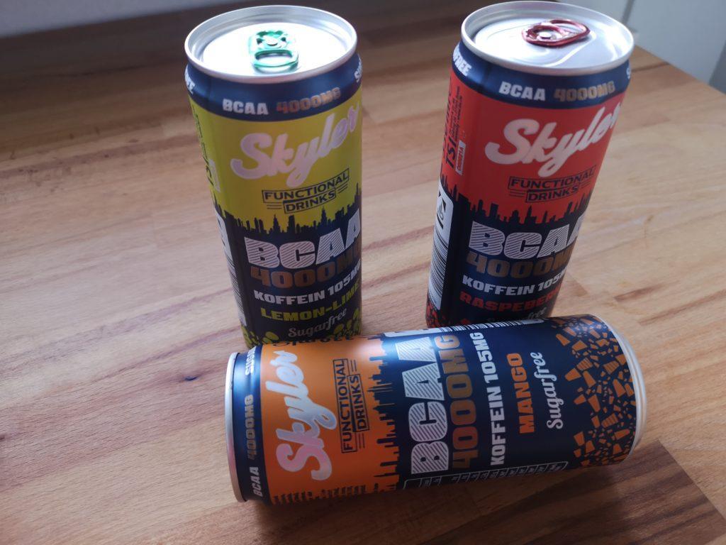 BCAA-Drinks von Skyler